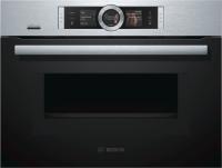 Bosch CNG 6764 S 6 Kompaktbackofen mit Mikrowelle Edelstahl