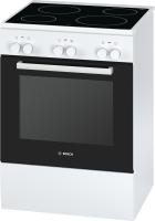 Bosch HCA 422120 EEK: A Glaskeramik-Kochfeld 60 cm weiß