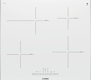 Bosch PIF 672 FB 1 E Glaskeramik 60 cmInduktion Edelstahl weiß autark