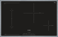 Bosch PVS 845 FB 1 E Glaskeramik 80 cm Induktion Edelstahl Rahmen autark