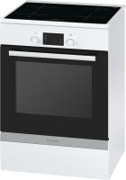 Bosch HCA 748220EEK: A 60 cm Induktion weiß