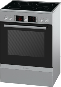 Bosch HCA 854450 EEK. A 60 cm Glaskeramik-Kochfeld Edelstahl