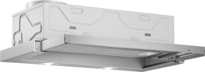 Bosch DFL 063 W 50 EEK: C Flachschirmhaube 60 cm grau-metallic