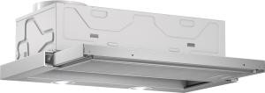 Bosch DFL 064 W 50 EEK: C Flachschirmhaube 60 cm