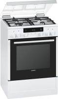 Siemens HX 745225Gas-Kombi-Standherd 60cm weiß