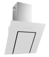 Termikel KÖLN 90 W Vertikale Glas-Wandhaube, 90 cm breit, weißes Glas