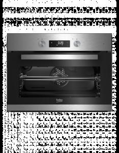 Beko BCM 12300 X EEK: A Miltifunktionsdisplay Edelstahl
