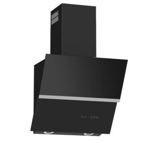 Termikel HAMBURG 60 Vertikale Glas-Wandhaube 60 cm schwarz