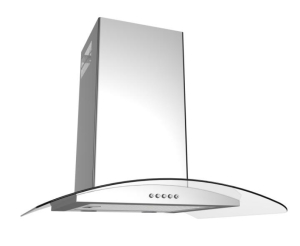 Termikel AACHEN60 Inox-Glas-Wandhaube 60 cm