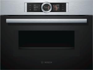 Bosch CMG 676 BS 1 Kompaktbackofen mit Mikrowelle Pyrolyse Edelstahl