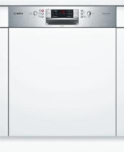 Bosch SMI 86 R 05 DEExclusiv A+++ 60 cm integrierbar Zeolith VarioSchublade Edelstahl