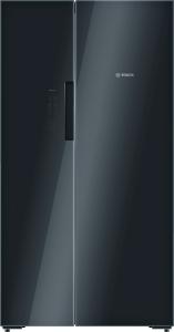 Bosch KAN 92 LB 35 A++ NoFrost Ice-Twister Glastüren schwarz