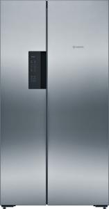 Bosch KAN 92 VI 35 A++ NoFrost Ice-Twister Türen Edelstahl mit Anti-Fingerprint