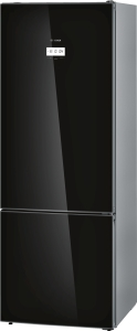 Bosch KGF 56 SB 40 A+++ NoFrost ColorGlass Edition schwarz Home Connect