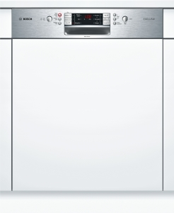 Bosch SMI 86 P 95 DE A++Exclusiv 60 cm Integrierbar Edelstahl
