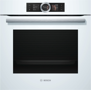 Bosch HBG 676 EW 6 A+ Pyrolyse Home Connect TFT-Touchdisplay weiß