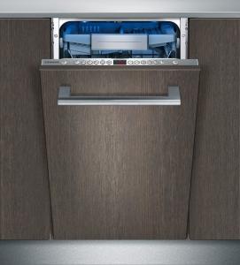 Siemens SR 66 T 098 EU A+++ 45 cm Zeolith varioSchublade Pro emotionLight blau Vollintegrierbar
