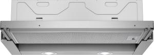 Siemens LI 64 LA 520 EEk: C 60 cm Flachschirmhaube Silbermetallic