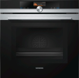 Siemens HM 676 G 0 S 6 Backofen mit Mikrowelle Pyrolyse Home Connect Edelstahl