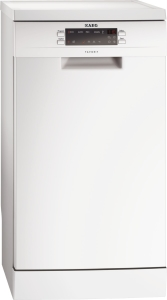 AEG F 55412 W 0 A+ 45 cm ExtraHygiene AutoSense weiß