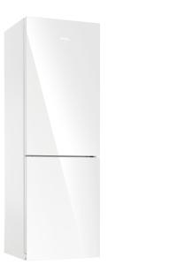Amica KGC 15530 WG A++ 185 cm Glasfront Weiß AntiBacteria