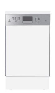 Amica EGSP 14383 EA+ 45 cm Einbau-Geschirrspüler, integriert