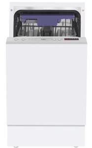Amica EGSP 14384 V A+45 cm Einbau-Geschirrspüler, vollintegriert