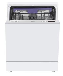 Amica EGSP 14387 V A+++ 60 cm Einbau-Geschirrspüler, vollintegriert, Besteckschublade
