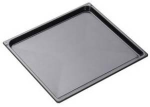 Amica 00074 Backblech, grau emailliert, Höhe 2 cm