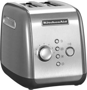 KitchenAid 5 KMT 221 ECU Toaster contur silber