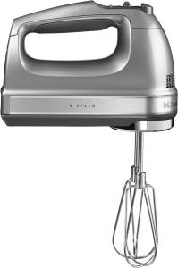 KitchenAid Artisan 5 KHM 9212 ECU Handmixer kontur-silber