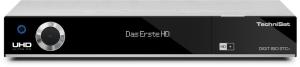 TechniSat DIGIT ISIO STC+ silber TwinTuner W-LAN inkl. 6 Monate HD+ Karte UHD/4K 3x