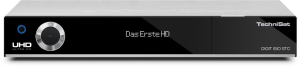 TechniSat DIGIT ISIO STC UHD/4K 3x TwinTuner W-LANsilber