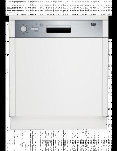 Beko DSN 04211 XA+ integrierbar 60 cmWatersafe+ Edelstahlblende