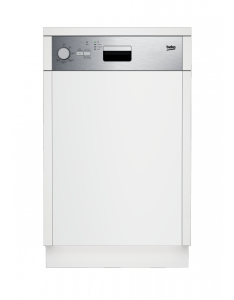 Beko DSS 05010 X EEK: A 45 cm Watersafe+ Edelstahlblende integrierbar