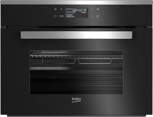 Beko BCW 18500 X EEK: A interaktives Text-Display Sensortasten Mikrowelle Edelstahl