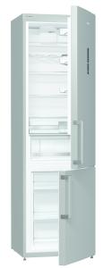 Gorenje RK 6203 LX A+++, B 60 cm, DynamicCooling, Elektr. i.d.Tür, Edelstahl-Türen mit AFP-Beschichtung
