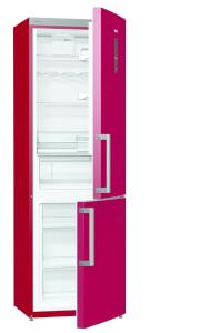 Gorenje RK 6193 LR A+++, B 60 cm, AdaptCool, Elektr. i.d.Tür, FreshZone, burgundy