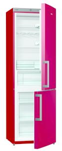 Gorenje RK 6192 ER A++, B 60 cm, FreshZone, vulcano red