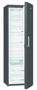 Gorenje R 6193 LB A+++, B 60 cm, IonAir Dynamic Cooling, FreshZone, Elektr. i.d.Tür, black, Griff m.