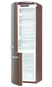 Gorenje ONRK 193 CH-L A+++, B 60 cm, NoFrost, Ion Air Multiflow, ZeroZone, TA links, dark chocolate