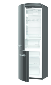 Gorenje ORK 193 BK-L A+++, B 60 cm, IonAir Dynamic Cooling, FreshZone, TA links, black