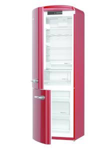 Gorenje ORK 193 R-L A+++ burgundy IonAir Dynamic Cooling FreshZone, TA links