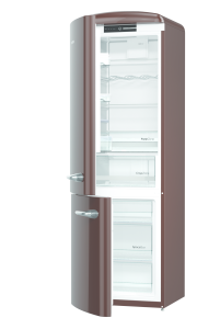 Gorenje ORK 193 CH-L A+++, B 60 cm, IonAir Dynamic Cooling, FreshZone, TA links, dark chocolate