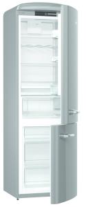 Gorenje ORK 193 X A+++, B 60 cm, IonAir Dynamic Cooling, FreshZone, TA rechts, silber