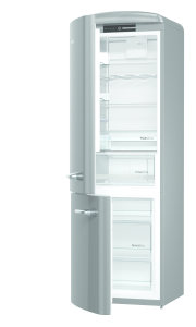 Gorenje ORK 193 X-L A+++, B 60 cm, IonAir Dynamic Cooling, FreshZone, TA links, silber