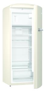 Gorenje ORB 153 C A+++, B 60 cm , 4* Gefrierfach, IonAir Dynamic Cooling, FreshZone, TA rechts, champagne