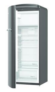 Gorenje ORB 153 BK-L A+++, B 60 cm , 4* Gefrierfach, IonAir Dynamic Cooling, FreshZone, TA links, black