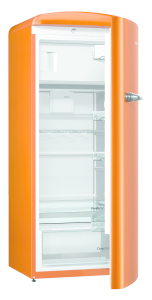 Gorenje ORB 153 O A+++, B 60 cm , 4* Gefrierfach, IonAir Dynamic Cooling, FreshZone, TA rechts, juicy orange