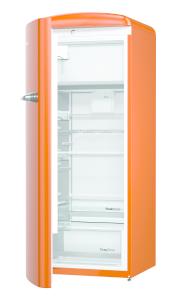 Gorenje ORB 153 O-L A+++ B 60 cm IonAir Dynamic Cooling FreshZone, TA links, juicy orange